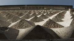 0140 Palazzo dei Diamanti in Ferrara, Italy - stock footage