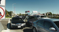Traffic Jam at LAX Footage