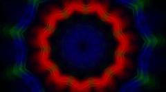 Acid kaleidoscope Stock Footage