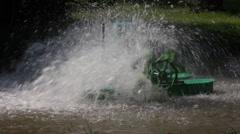 Water turbine 1 Stock Footage