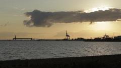 Early Morning, Townsville, Australia Stock Footage