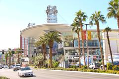 Fashion show mall  in las vegas, nevada. Stock Photos