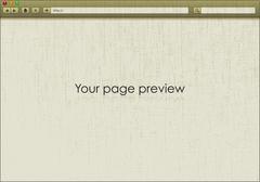 Blank window of browser Stock Illustration