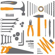 diy tool - stock illustration