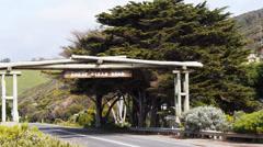 Great ocean road memorial archway Stock Footage