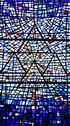 Stock Photo of stained glass window