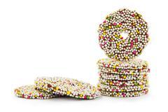 Chocolate rings - stock photo