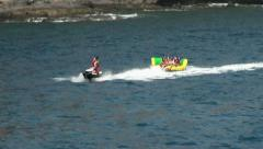 Water Sports in Gran Canaria Stock Footage