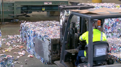 Recycling Stock Footage