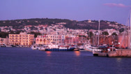 Stock Video Footage of Chania port