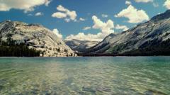 Tenaya Lake - stock footage