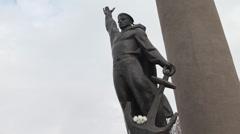 Monuments Vladivostok Stock Footage