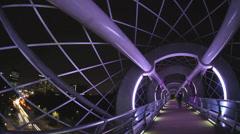 Silkworm Bridge Stock Footage