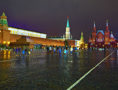 4K. Moscow Kremlin and Historical Museum. Footage