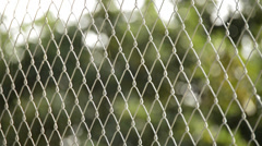 Wire fence - stock footage