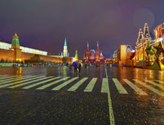 4K. Moscow Kremlin and Historical Museum. Stock Footage