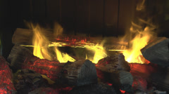 Hearth Stock Footage