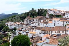 Castelo de vide, alentejo, portugal Stock Photos