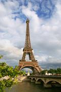 Eiffel tower. Stock Photos