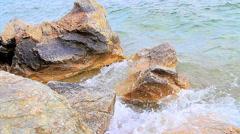 Okanogan lake water Stock Footage
