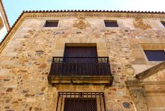 cathedral of caceres, caceres, spain - stock photo