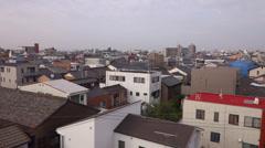 Train Ride Through Gifu City Stock Footage
