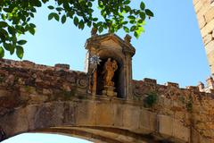 arco de la estrella, caceres, spain - stock photo