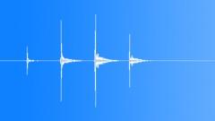 Four claps - sound effect