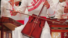 Morin Khuur, Mongolian Music Performance Stock Footage