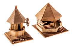 Stock Photo of wooden dwelling