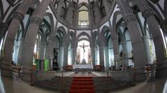 The Parish Church of San Juan Bautista in Arucas, Gran Canaria Spain Stock Footage