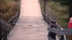 Stock Video Footage of vintage home movies, Norway