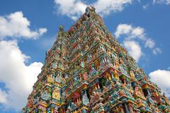 Stock Photo of sri meenakshi temple, Madurai, India