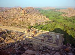 Hampi, India, Ancient Hindu temple Stock Photos