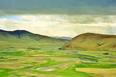 Stock Photo of View of Orkhon Valley