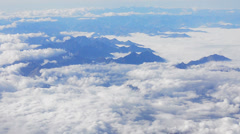 Alps above the clouds HD - stock footage