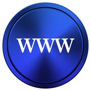 Www icon Stock Illustration