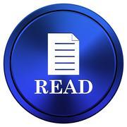 Stock Illustration of read icon