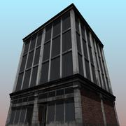 3d model of 3D model of an old building