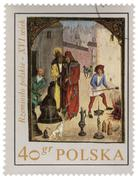 Polish crafts in medieval town Stock Photos