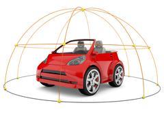 Car insurance Stock Illustration