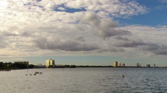 Tampa Bay, Bayshore area time lapse Stock Footage