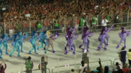 Stock Video Footage of Sao Paulo Carnival 2013