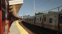 Commuter metro (2 of 4) Stock Footage