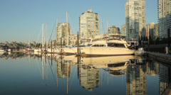 Yaletown Luxury Reflections, Vancouver Stock Footage