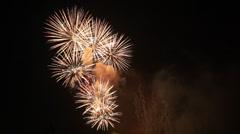 Fireworks - design elements Stock Footage