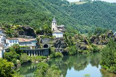 ambialet (tarn, france) - stock photo