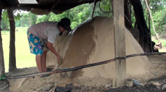 Traditional Charcoal Production - 16 Stock Footage