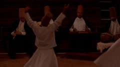 Whirling dervishes (23) Stock Footage