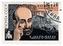 Armenian composer komitas Stock Photos